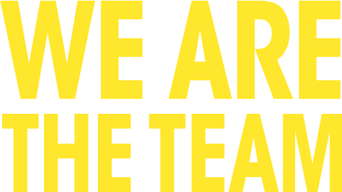 We are the team